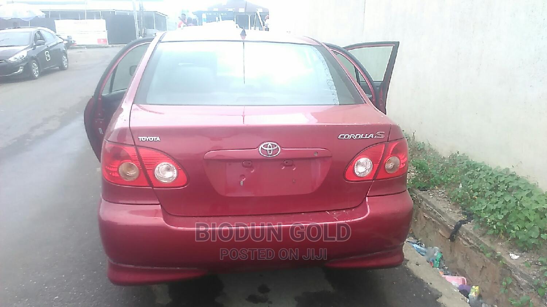 Toyota Corolla 2007 Red