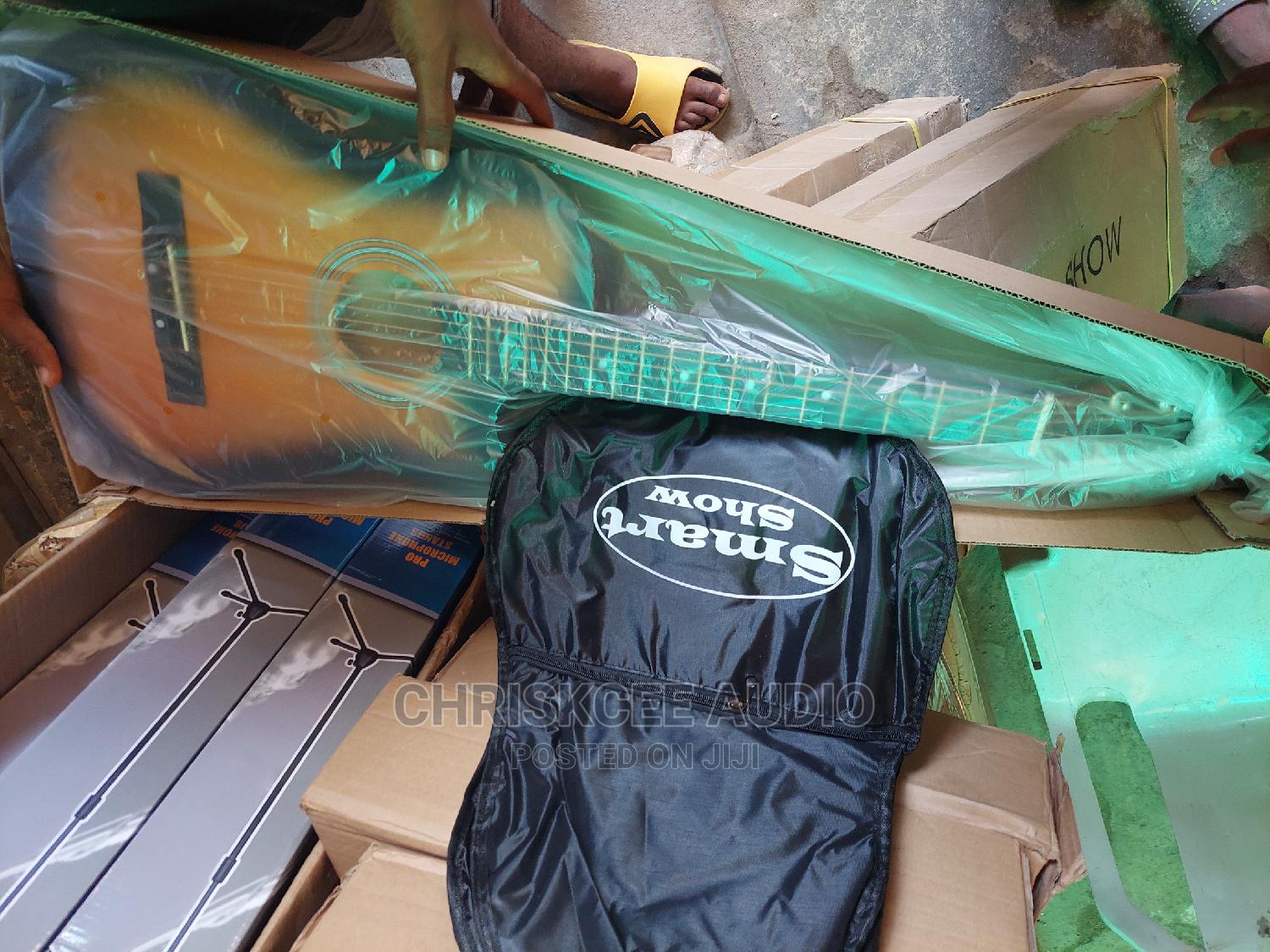 Acoustic Box Guitar   Musical Instruments & Gear for sale in Ojo, Lagos State, Nigeria