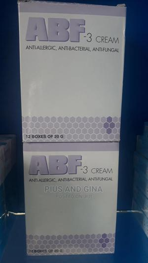 ABF -3 Cream Anti-Bacteria, Anti- Fungal (Pack) | Skin Care for sale in Lagos State, Alimosho