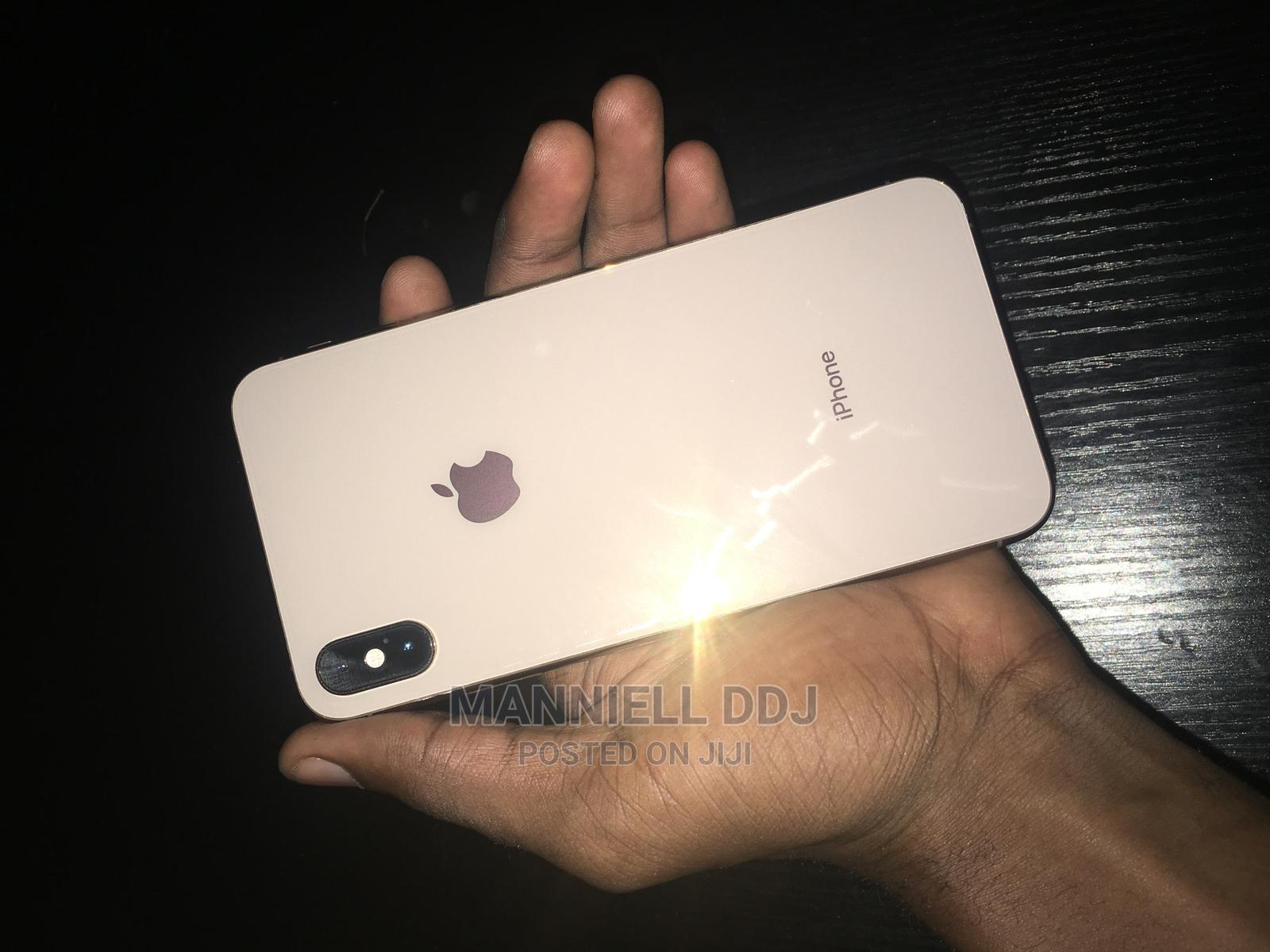 Apple iPhone XS Max 512 GB Gold   Mobile Phones for sale in Ogba, Lagos State, Nigeria