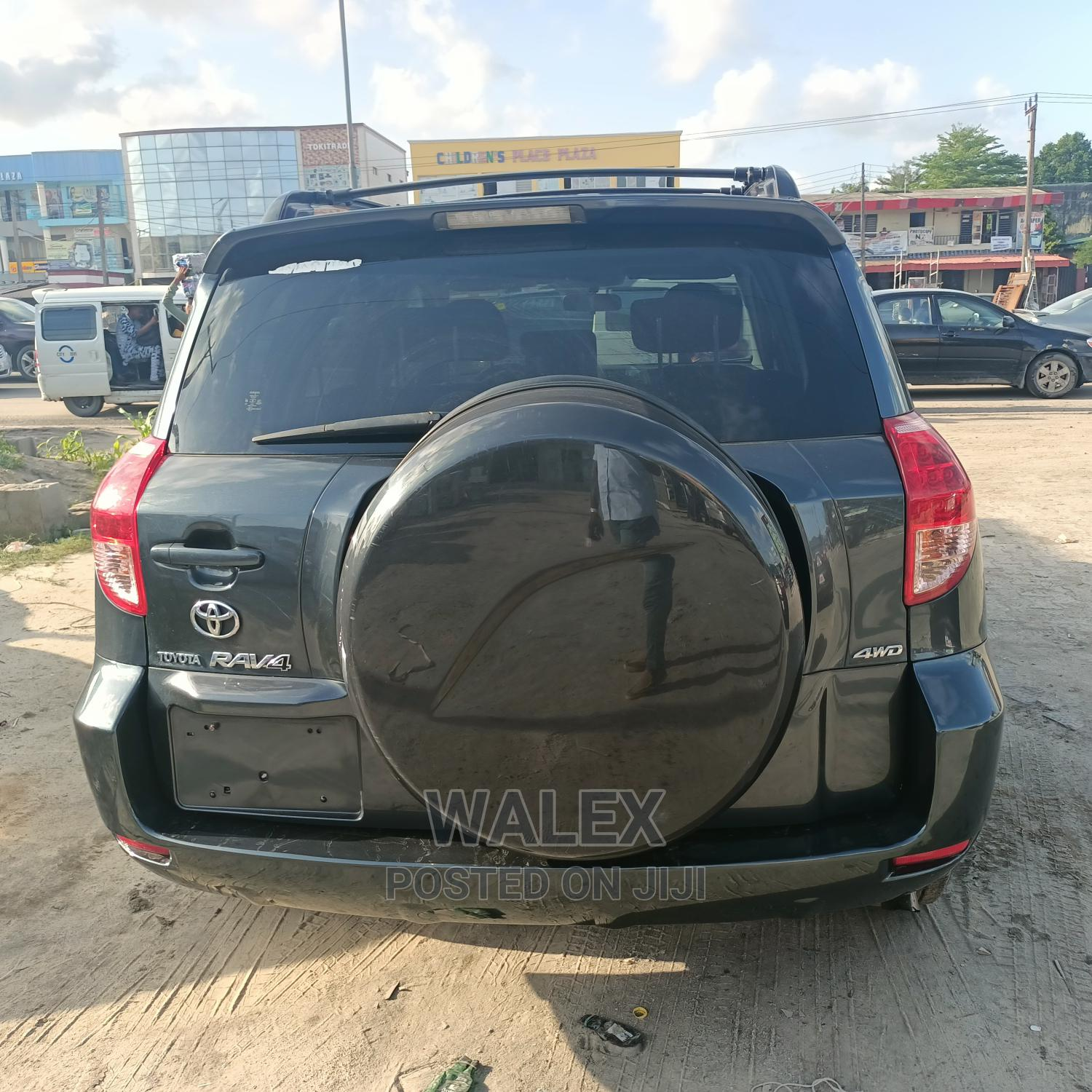 Toyota RAV4 2008 200 4X4 Automatic Green | Cars for sale in Ajah, Lagos State, Nigeria