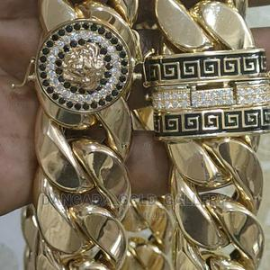 Cubans Golden Necklaces | Jewelry for sale in Lagos State, Yaba