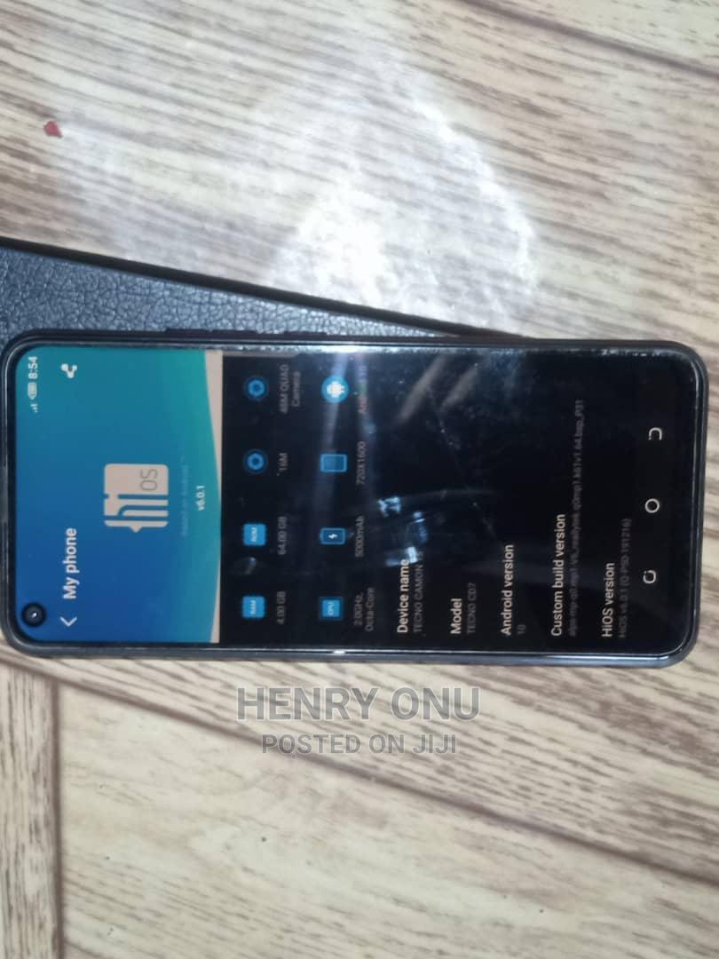 Archive: Tecno Camon 15 64 GB Blue