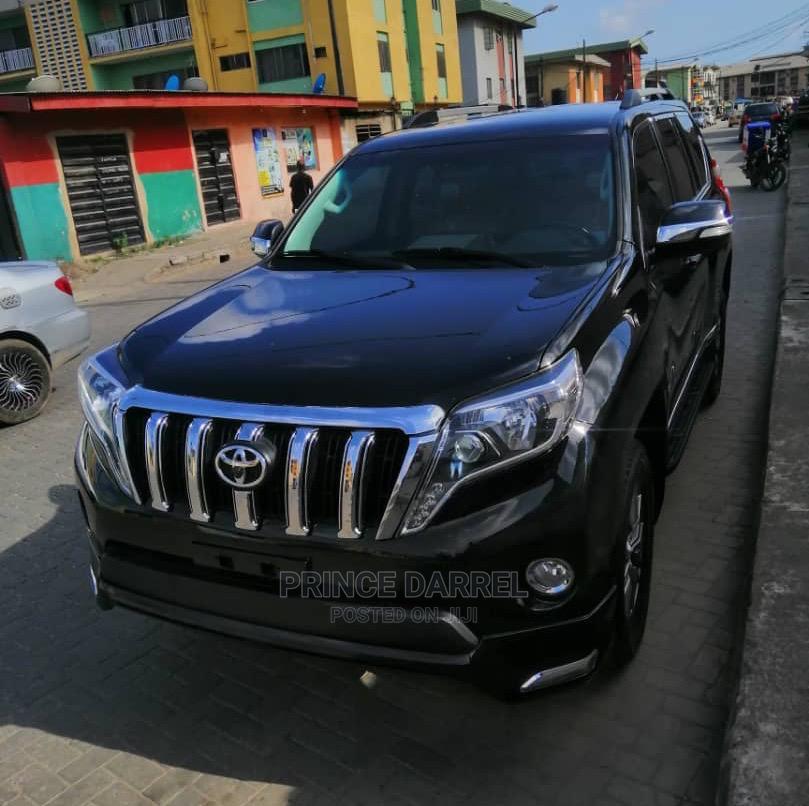 Toyota Land Cruiser Prado 2015 Black