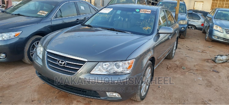 Hyundai Sonata 2009 Limited Gray