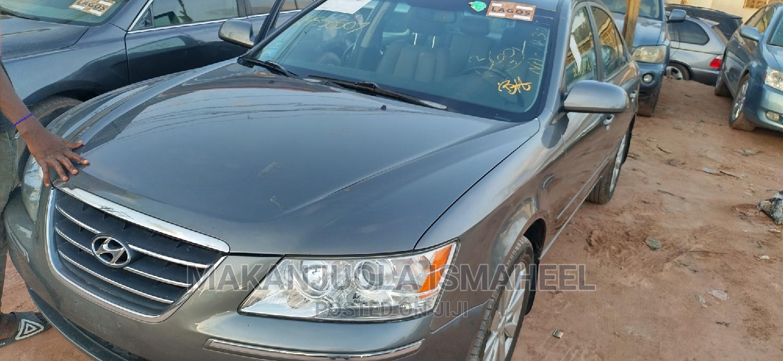 Hyundai Sonata 2009 Limited Gray   Cars for sale in Ikotun/Igando, Lagos State, Nigeria