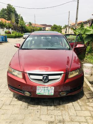 Acura TL 2008 Automatic Red   Cars for sale in Lagos State, Ikoyi