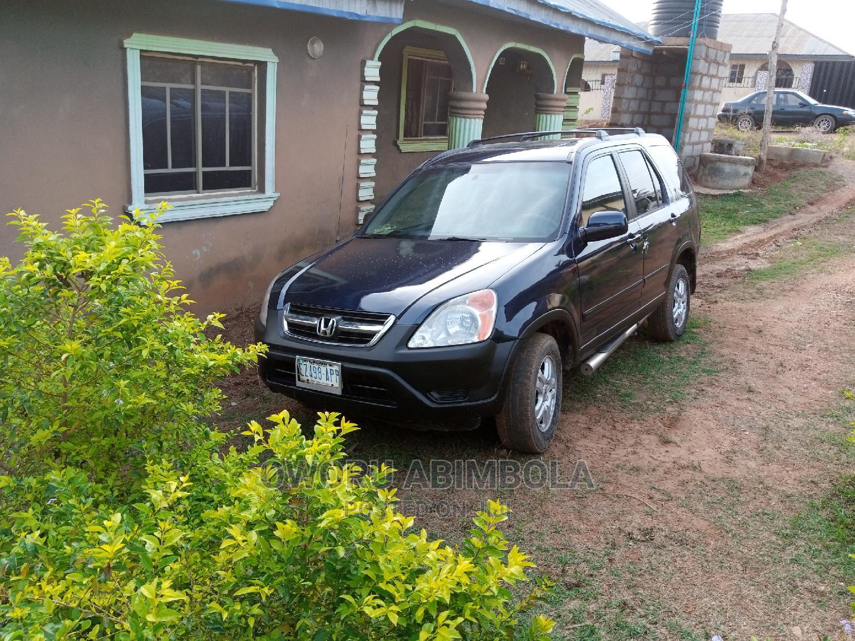 Honda CR-V 2004 EX 4WD Automatic Blue   Cars for sale in Ibadan, Oyo State, Nigeria