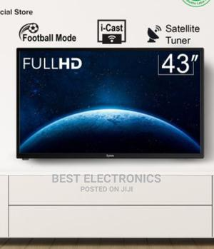 "Syinix 43"" LED HD Digital I-Cast Satellite TV | TV & DVD Equipment for sale in Abuja (FCT) State, Kubwa"