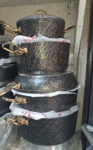 5 Set of Non Stick Pot | Kitchen & Dining for sale in Lagos State, Lagos Island (Eko)