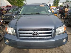 Toyota Highlander 2007 Sport 4x4 Blue   Cars for sale in Lagos State, Amuwo-Odofin