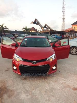 Toyota Corolla 2016 Red   Cars for sale in Lagos State, Amuwo-Odofin