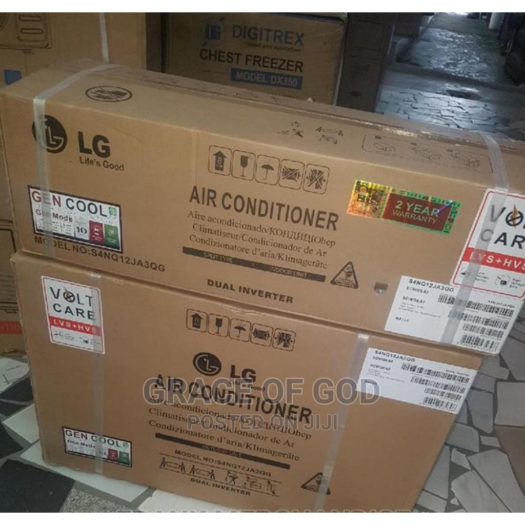 LG Air Conditioner 1.5hp Dual Inverter Split Unit R410A | Home Appliances for sale in Ikeja, Lagos State, Nigeria