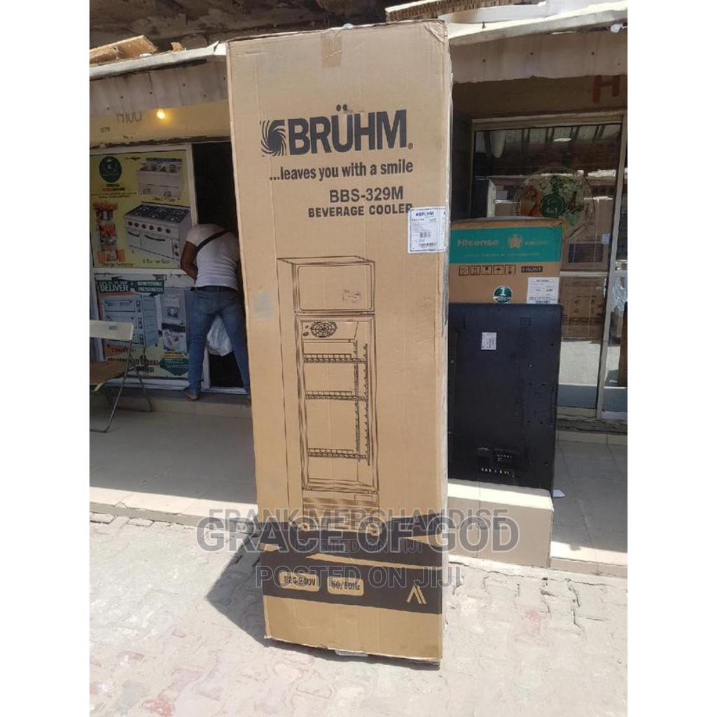 Bruhm Standing Fridge Showcase Glass | Store Equipment for sale in Ikeja, Lagos State, Nigeria
