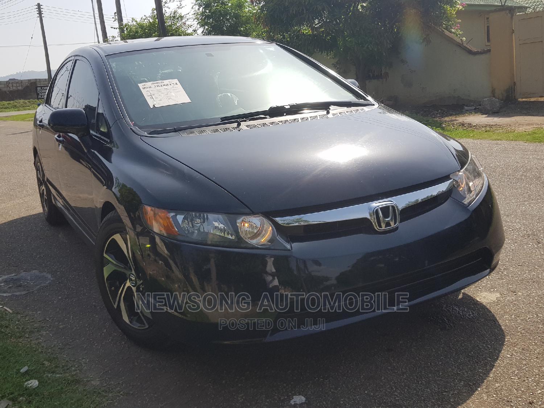 Honda Civic 2006 1.8i-Vtec VXi Automatic Black   Cars for sale in Gwarinpa, Abuja (FCT) State, Nigeria