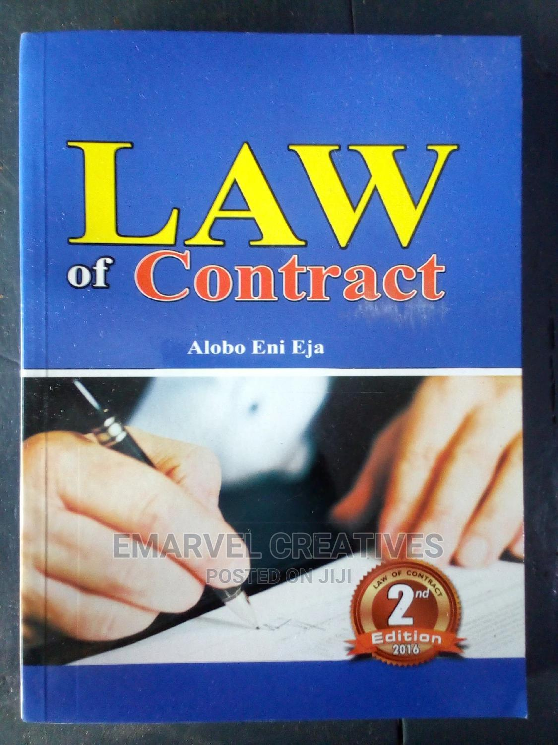 Law of Contract : Alobo Eni Eja