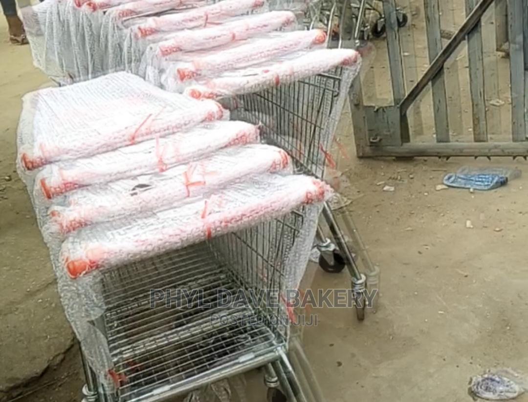 Supermarket Trolley 150liter