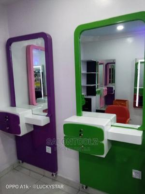 Standing Quality Salon Mirror | Salon Equipment for sale in Lagos State, Lagos Island (Eko)