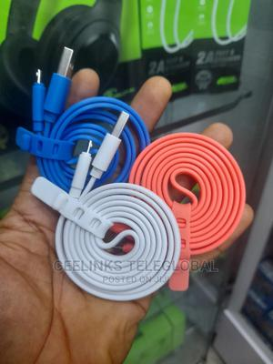 Original Oraimo USB Cable Charger White | Accessories for Mobile Phones & Tablets for sale in Lagos State, Ikeja