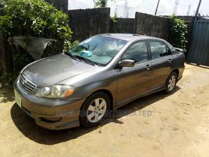 Toyota Corolla 2007 S Gray   Cars for sale in Rivers State, Port-Harcourt