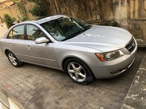 Hyundai Sonata 2007 3.3 V6 GLS Automatic Blue | Cars for sale in Lagos State, Ifako-Ijaiye