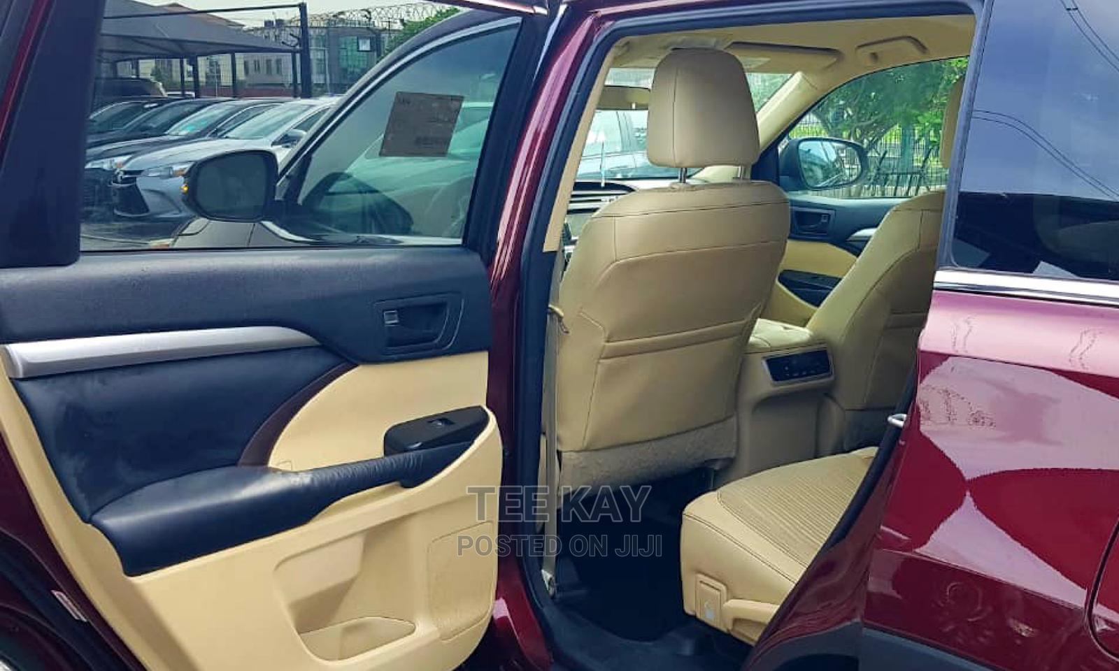 Toyota Highlander 2014 Red   Cars for sale in Lekki, Lagos State, Nigeria