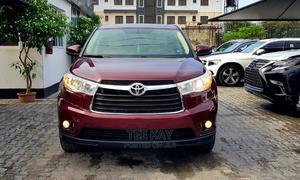 Toyota Highlander 2014 Red | Cars for sale in Lagos State, Lekki