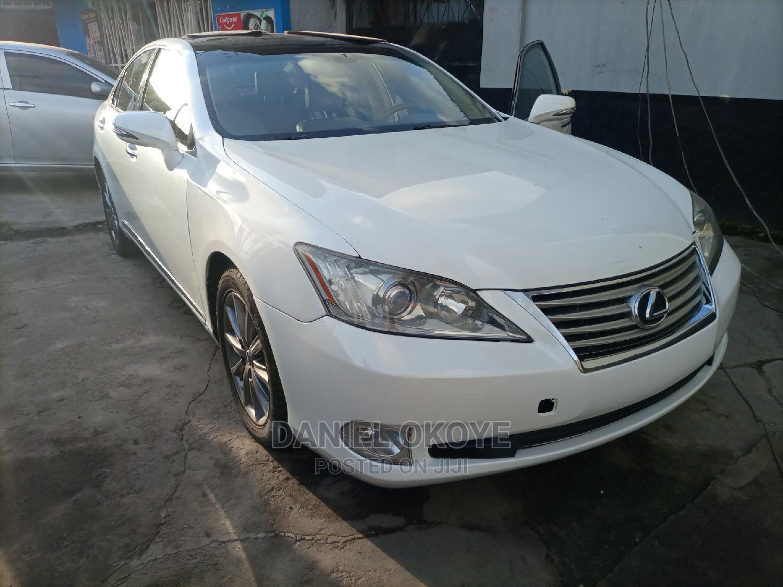 Lexus ES 2010 350 White