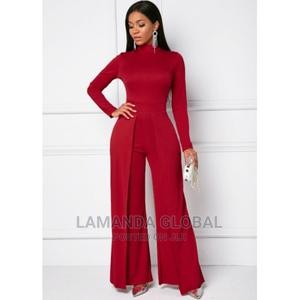 Turtle Neck Long Sleeve Jumpsuit | Clothing for sale in Lagos State, Ikeja