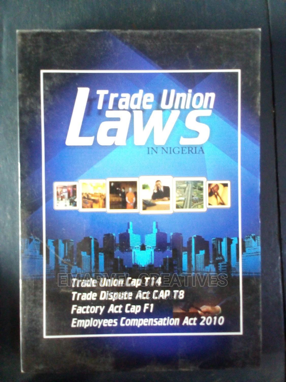 Trade Union Laws in Nigeria