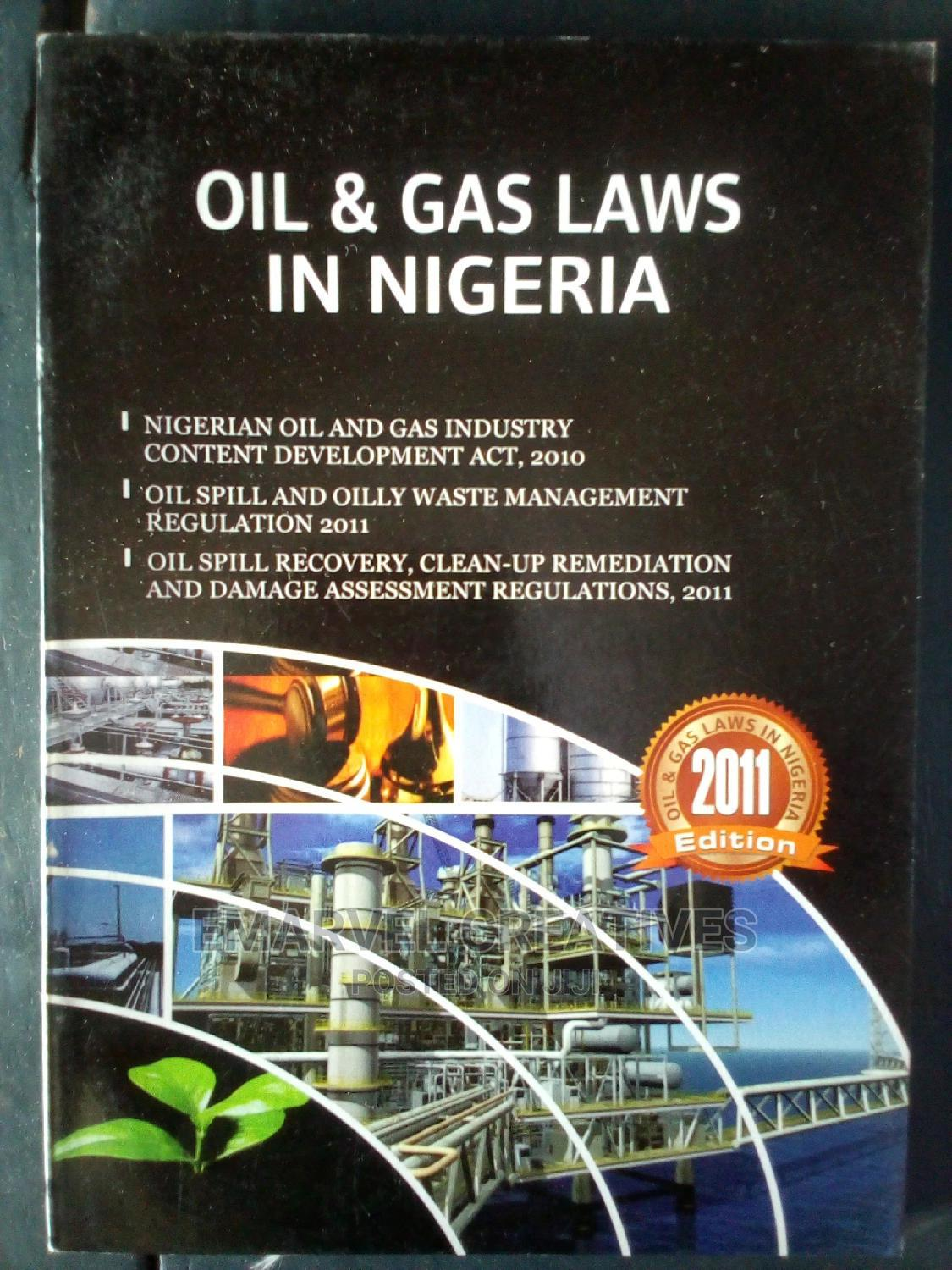 Oil and Gas Laws in Nigeria