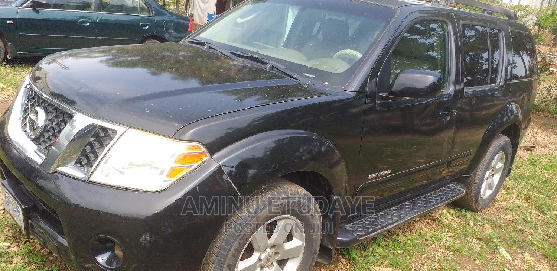 Archive: Nissan Pathfinder 2007 SE Black