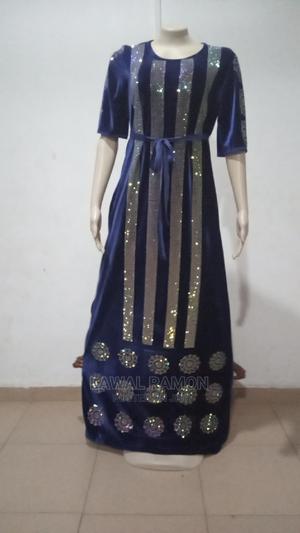 Abaya With Original Crystal Rhinestone   Clothing for sale in Lagos State, Alimosho