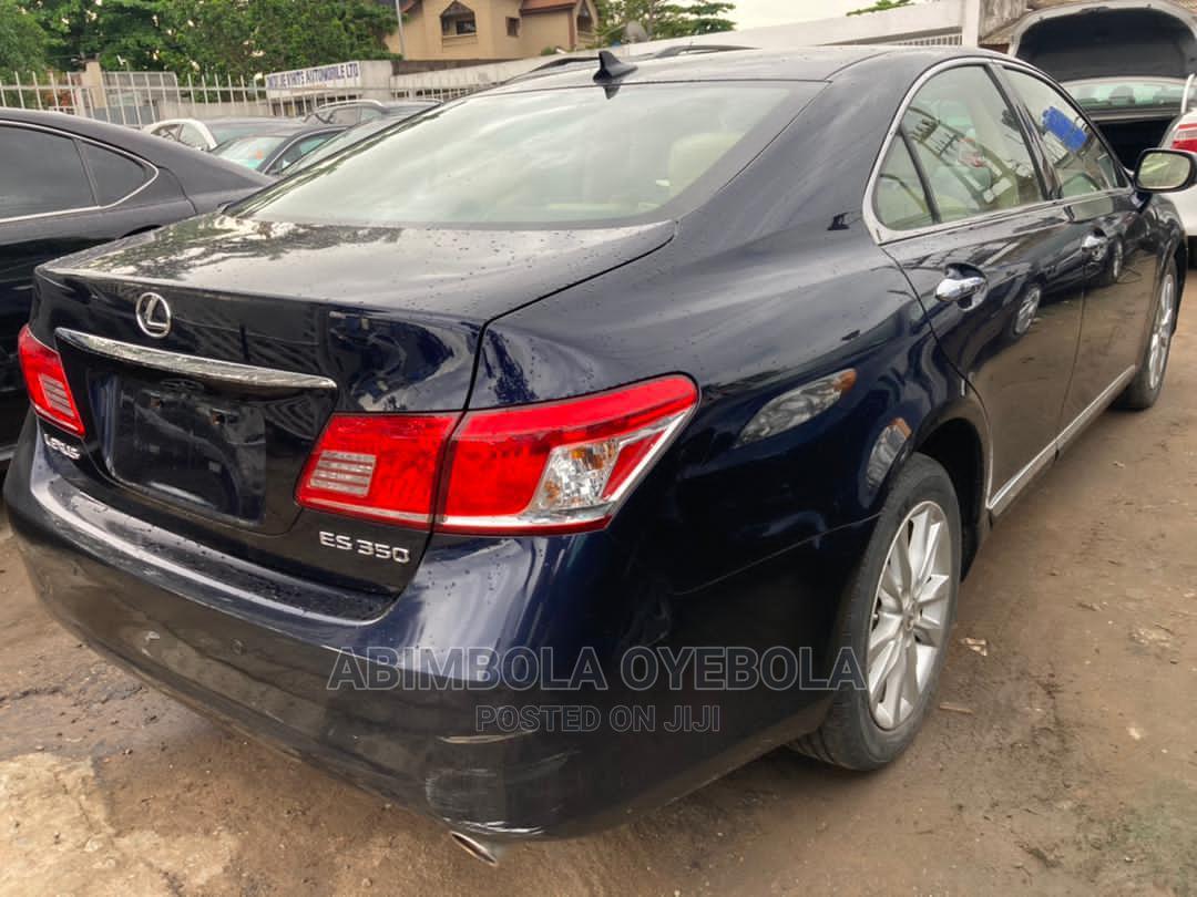 Lexus ES 2010 350 Blue | Cars for sale in Ikeja, Lagos State, Nigeria