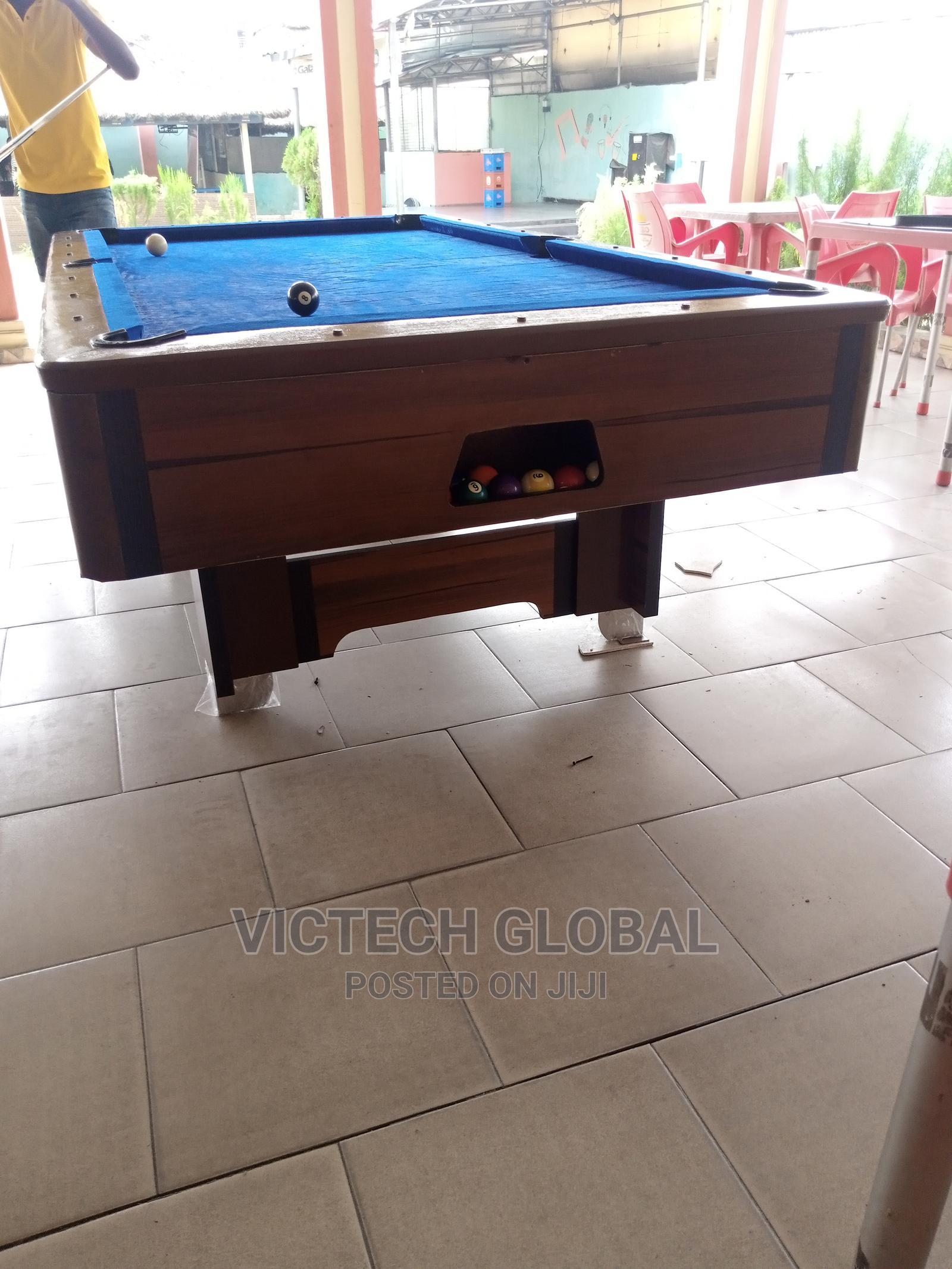 Archive: Nigeria Made Snooker Board