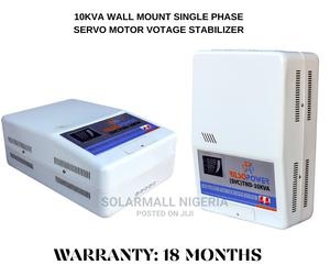 10kva Wall Mount Servo Starbilizer (18 Months Warranty)   Electrical Equipment for sale in Lagos State, Ikeja