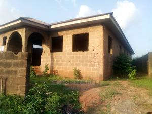 Half Plot of Land Carrying a 3 Bedroom Flat Roofed | Houses & Apartments For Sale for sale in Lagos State, Ikeja