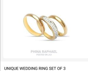 Wedding Ring Set of 3   Wedding Wear & Accessories for sale in Lagos State, Abule Egba