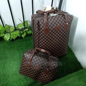 Portable Unisex Leather Luggage Bag | Bags for sale in Lagos State, Ikeja