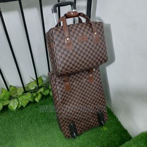 Brown Standard Trolley Luggage Bag | Bags for sale in Lagos State, Ikeja