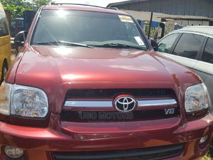 Toyota Sequoia 2006 Red   Cars for sale in Lagos State, Amuwo-Odofin