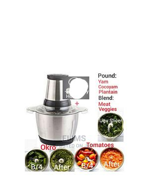Yam Pounder/ Food Processor | Kitchen Appliances for sale in Lagos State, Amuwo-Odofin