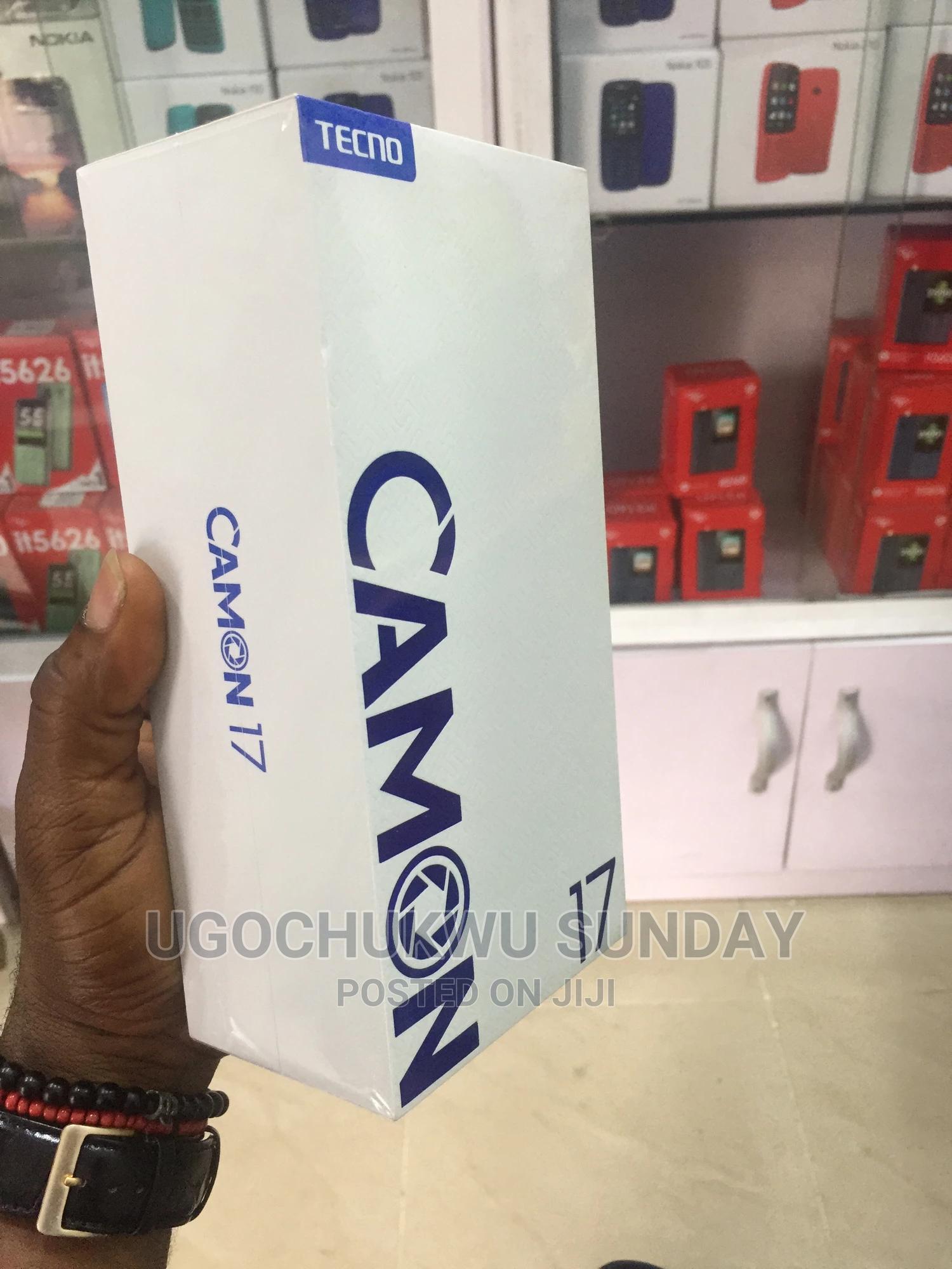 New Tecno Camon 17 128 GB | Mobile Phones for sale in Ikeja, Lagos State, Nigeria