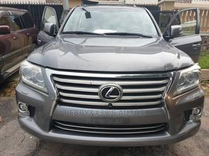 Lexus LX 2014 570 Base Gray | Cars for sale in Lagos State, Ajah