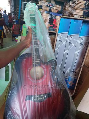 Acoustic Box Guitar 39inchs | Musical Instruments & Gear for sale in Lagos State, Ojo