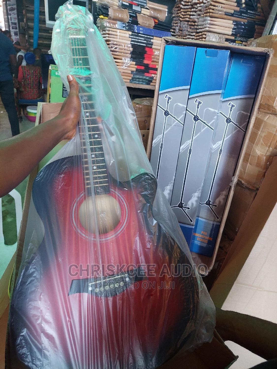 Acoustic Box Guitar 39inchs | Musical Instruments & Gear for sale in Ojo, Lagos State, Nigeria