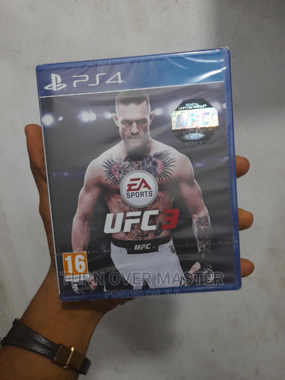 PS4 Ufc 3 CDS