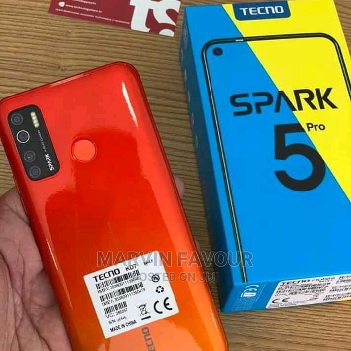 Archive: New Tecno Spark 5 Pro 128 GB Red