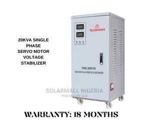 20kva Single Phase Servo Motor Voltage Stabilizer I | Electrical Equipment for sale in Lagos State, Ikeja