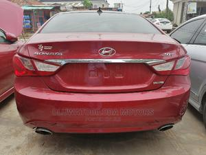 Hyundai Sonata 2013 Red | Cars for sale in Lagos State, Alimosho